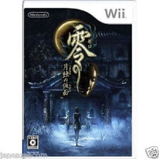 Used Wii Zero Tsukihami Kamen Gesshok NINTENDO JAPAN JP JAPANESE JAPONAIS IMPORT