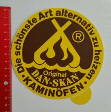 Aufkleber/Sticker: Dan Skan Kaminöfen (050616170)