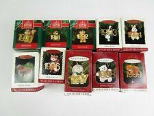 New 10 Hallmark Christmas Ornaments Fabulous Decade Series 1990-1999 Complete