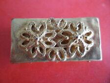 Vintage BROCHE DOREE signée BALENCIAGA PARIS Collector doré limité voir photos