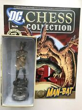 DC COMICS CHESS COLLECTION ISSUE 24 MAN-BAT EAGLEMOSS FIGURINE FIGURE + MAGAZINE