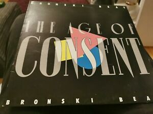 BRONSKI BEAT THE AGE OF CONSENT, 80's LP vinyl