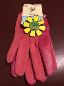 Midwest 7791 Ladies Jersey 'N More Pink Gloves with Invisible Grip.New with Tags