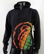 New Grenade Smoke Hoodie Black Mens Size Medium MHD-148