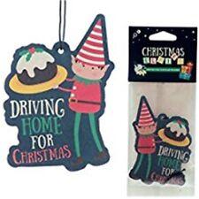 Elf Christmas Cake Scent Car Air Freshener for Home Van Novelty Hanging Freshner