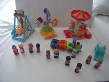 ELC HAPPYLAND FUN FAIR PIRATE RIDE, MERRY GO ROUND, TRAIN, FIGURES - BUNDLE/LOTS