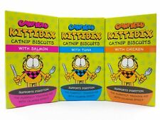 Snack For Cats Garfield Kittibix Catnip Biscuits With Salmon Tuna Chicken Treats