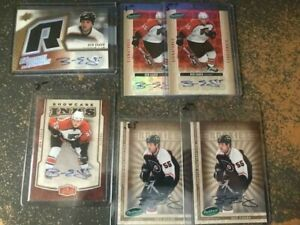 BEN EAGER 6-AUTO CARD LOT PACK FRESH