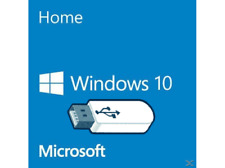 Windows 10 USB Bootable Flash Drive Install Recovery Repair 64bit Home & Pro Ver