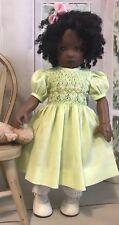 "28cm Boneka Smocked Cotton Dress For Kish Bitty Bethany Bleuette 11"" dolls"