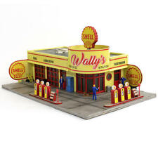 Menards Limited Edition O Gauge Wally's Gas Station - #2794431