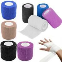 7.5cm*4.5m Elastic Self-Adhesive Bandage Gauze Tape Emergency Muscle Tape HOT