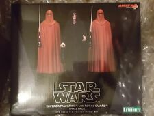 Kotobukiya ARTFX+ Star Wars Emperor Palpatine with Royal Guard