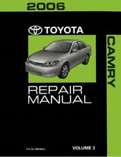 2006 Toyota Camry Shop Service Repair Manual Volume 3 Only