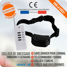 COFFRET DRESSAGE ELECTRIQUE / Collier Aboiement / Chien