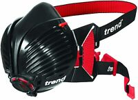 Trend Stealth Air APF10 Reusable Half Mask Respirator(DOES NOT INCLUDE FILTERS)