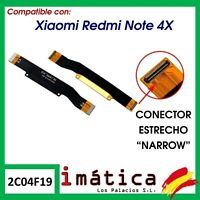 FLEX PRINCIPAL CONECTOR PLACA BASE XIAOMI REDMI NOTE 4X CABLE SNAPDRAGON