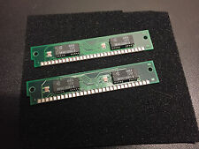 2x 1MB 30-Pin 2-Chip 80ns FPM Memory SIMMs 2MB Mac LC II Vintage Apple Macintosh