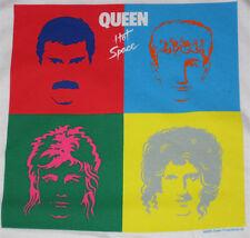 Queen Hot Space _RARE_ L Red RINGER shirt vtg Concert Rock tour t-shirt lp art