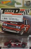 Hot Wheels Trackday Coche de Carreras 5/5 Datsun Bluebird 510 , Año 2016 ,