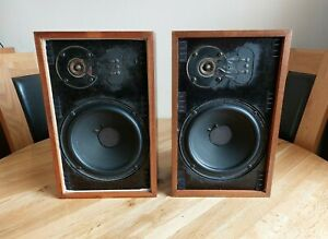 Vintage Acoustic Research AR7 HiFi Bookshelf Stand/Mount Speakers - 60 W