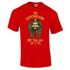 Mo Salah 11 Egyptian King Egypt Pharaoh Gift Made In Liverpool T-Shirt S - 5XL