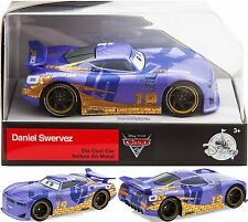 New! Disney Store DANIEL SWERVEZ 1:43 Die Cast Car ~Disney-Pixar Cars 3~ In Hand