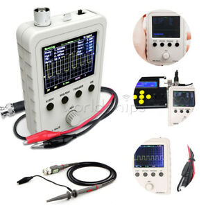 Assembled DSO150 Digital Oscilloscope 2.4 inch LCD Display with Clip + Adpater