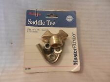 """New listing Master Plumber Saddle Tee fits 1/2"""" Ips 1/2"""" Ips Outlet #232587"""
