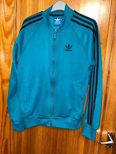 Adidas Originals Trefoil Track Jacket -  Size Small - Green- Mens