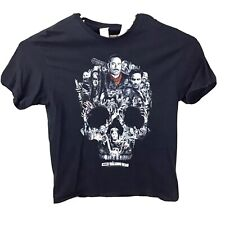 Walking Dead AMC Skull Image XL Black Mens T-Shirt Delta Pro Weight