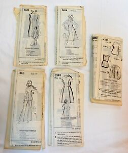 Vintage 1970s Dress Pants Suit Woman's Sewing Pattern Sue Burnett LOT 0f 5