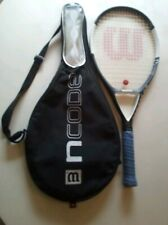 Wilson nCode N6 110 Sq. in. Tennis Racquet 4 3/8 16x20 9.1oz 258g With Cover