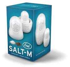 Nesting Salt & Pepper Shakers Matryoshka Babushka Russian Doll SALT-M FRED