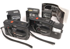 Olympus XA/XA2 w/A11 & A16 Flashes For Parts/Repair