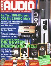 Audio 7/01 Rotel RA-1060,Creek 4330 SE MK  II,Primare A 10,NAD C 521, HGP Fuga