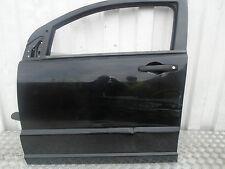 2007 DODGE CALIBER 5DR N/S/F PASSENGERS DOOR WITH GLASS/DOOR CARD BLACK