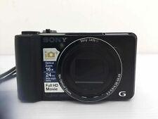 Sony Cyber-shot DSC-HX9V 16.2MP Digital Camera - Black with Battery