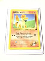 BLAINE'S PONYTA - Gym Challenge  - 64/132 - Common - Pokemon Card - NM