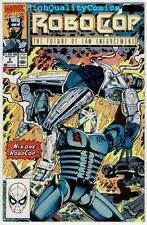 ROBOCOP #2 3 4 5 6, 8, NM+, Future of Law Enforcement, Police, guns, 1990