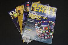 CHESS MAGAZINES Lot of 4 EUROPE ECHECS magazines Fevrier -Mai 2011 Francais
