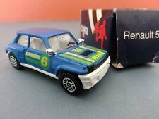 "Corgi ""Junior"" Die Cast Renault 5 Turbo . BP racing team. BOXED"