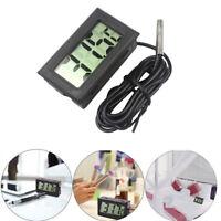 Mini Digital Display Thermometer Fish Tank Refrigerator Water Temperature Meter