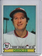 1979 TOPPS #91 TERRY CROWLEY BALTIMORE ORIOLES FREE SHIPPING