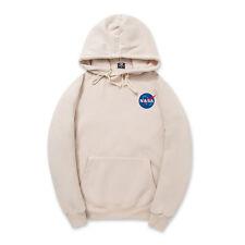 Men's Pullover Hoodie unisex fleece Hoodies Hoody nasa print sweatshirt teenager