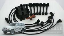Suits TOYOTA Landcruiser 1FZ-FE FZJ 80 Series 4.5L IGNITION LEADS CAP ROTOR KIT