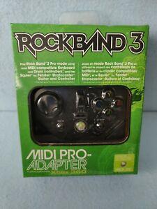 Mad Catz Rock Band 3 MIDI Pro Adapter for Microsoft Xbox 360 - Black