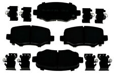 Disc Brake Pad Set-Ceramic Disc Brake Pad Rear ACDelco Pro Brakes 17D1734CH