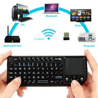 Air Mouse 2.4GHZ Wireless Keyboard Touchpad Remote Control for Smart TV Tablet
