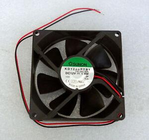 Sunon 92mm x 25mm Server Grade Fan 49 CFM Dual Ball Bare Leads KD1209PTB1